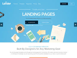 email landing pages